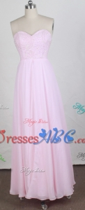Exquisite Empire Sweetheart Neck Floor-length Prom Dress