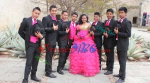 Affordable Sequined Bust and Ruffled Sweetheart Hot Pink Quinceanera Package in Tulle