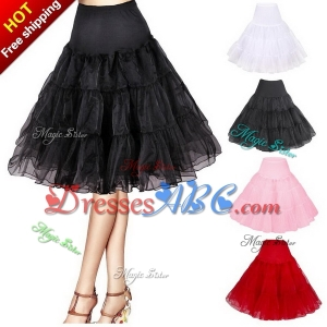 Short Organza Petticoat Crinoline Vintage Wedding Bridal Petticoat for Wedding Dresses Underskirt Ro
