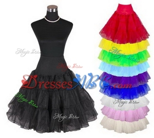 Womens 50s Vintage Rockabilly Petticoat Colorful Underskirt