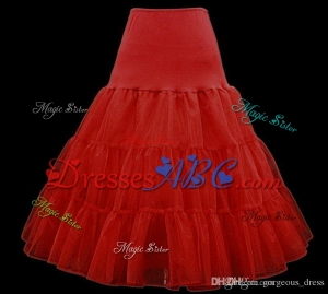 Free shipping A variety of colors Knee Length Skirt Slips Petticoat Crinoline Underskirt Pannier Org