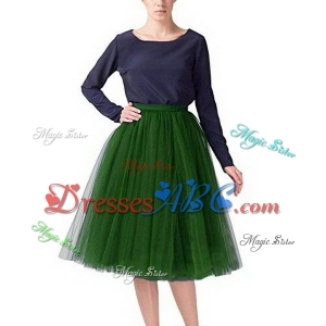 Cheap Hot Sale Colorful Tulle Bridesmaid Dresses 50s Vintage Tulle Petticoat Tutu Skirt Bridal Petti