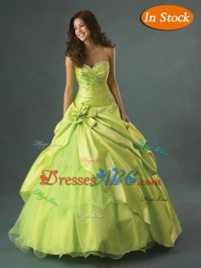 Exclusive Ball Gown Sweetheart Floor-length Beading Quinceanera Dress