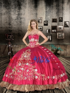 Perfect Sweetheart Quinceanera Dresses with Embroidery