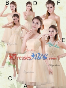 2017 The Brand New Style Mini Length Dama Dress