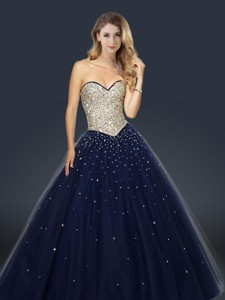 Perfect A Line Sweetheart Sweet 16 Dress With Beading And Paillette