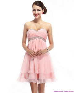 Beautiful Sweetheart Prom Dress With Beading And Ruching