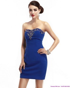 The Most Popular Strapless Short Homecoming Dress With Appliques