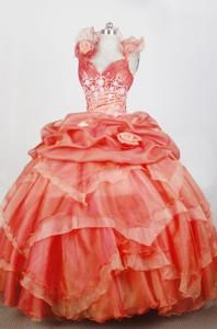 Gorgeous Ball Gown Sweetheart Neck Floor-length Quinceanera Dress