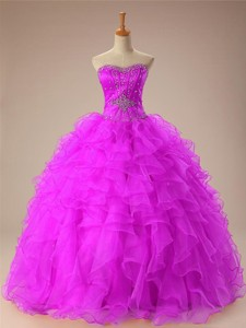 Summer Sweetheart Quinceanera Dress With Beading