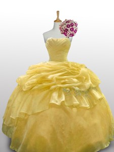 Sweet Ball Gown Quinceanera Dress With Appliques Layers