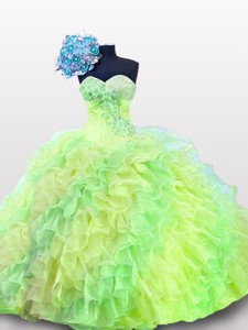Pretty Sweetheart Quinceanera Gowns In Multi Color