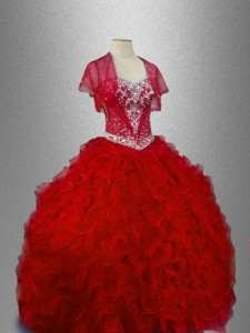 Ball Gown New Arrivals Sweet 16 Dress With Ruffles