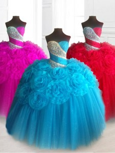 Elegant Sweetheart Quinceanera Dress With Beading