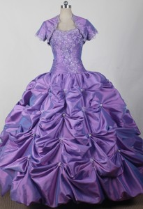 Classical Ball Gown Sweetheart Floor-length Qunceanera Dress