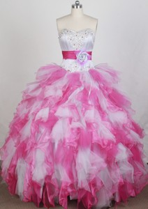 Pretty Ball Gown Sweetheart Neck Floor-length Quinceanera Dress