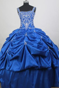 Luxurious Ball Gown Straps Floor-length Quinceanera Dress