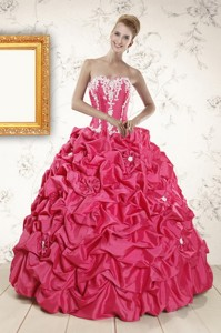 Cheap Ball Gown Sweetheart Quinceanera Dress With Appliques