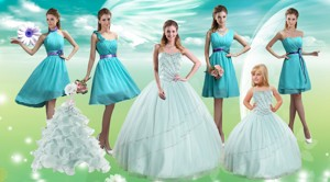 Apple Green Sweetheart Beading Quinceanera Dress And Pretty Ruching Knee Length Prom Dress And Spa