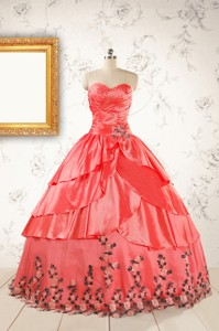 Exquisite Quinceanera Gowns With Ruching And Appliques