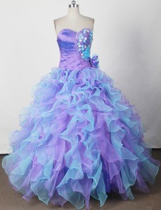 Amazing Ball Gown Sweetheart Neck Floor-length Quinceanera Dress