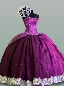 Hot Sweetheart Quinceanera Dress With Lace