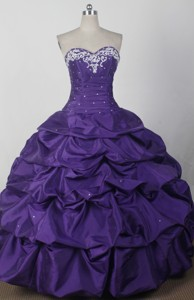 Beautiful Ball Gown Sweetheart Floor-length Qunceanera Dress