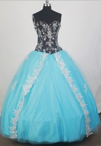 Elegant Ball Gown Sweetheart Floor-length Quinceanera Dress
