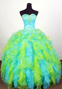 Luxuriously Ball Gown Sweetheart Floor-length Quinceanera Dress