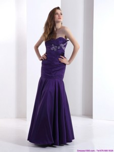 Popular Prom Dress With Beading And Ruching