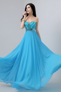 Latest Sweetheart Prom Dress With Beading And Sequins