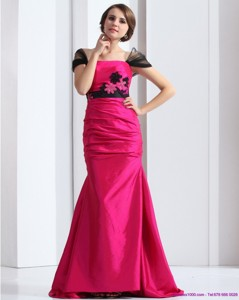 Luxurious Prom Dress With Brush Train