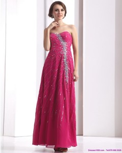 Pretty Sweetheart Floor Length Prom Dress With Beading