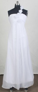 New Empire One Shoulder Neck Floor-length Prom Dress