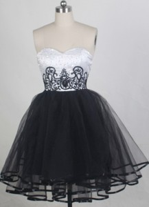 Exquisite Sweetheart Neck Mini-length Prom Dress