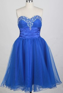 Exquisite Short Sweetheart Neck Mini-length Prom Dress
