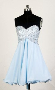 Popular Sweetheart Mini-length Prom Dress
