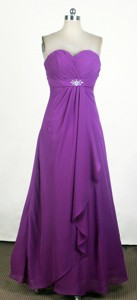 Popular Empire Sweetheart Neck Floor-length Prom Dress