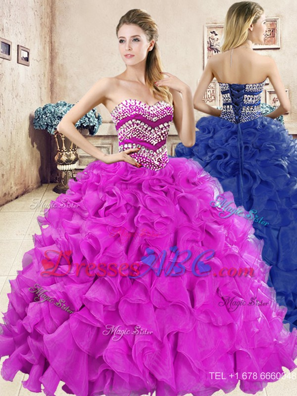 033e307bff2 Wonderful Big Puffy Quinceanera Dress with Beading and Ruffles