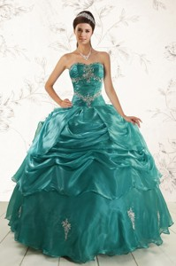 New Style Ball Gown Sweet 16 Dress With Appliques