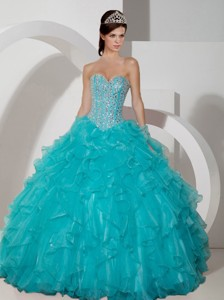 New Arrival Quinceanera Dress Ball Gown Sweetheart Floor Length