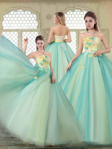 New Arrivals Strapless Quinceanera Dress With Appliques