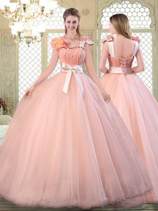 Beautiful Asymmetrical Quinceanera Dress With Bowknot