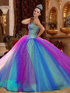 The Most Popular Ball Gowns Sweetheart Floor-length Quincenera Dress
