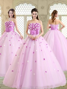 New Arrivals Straps Quinceanera Dress With Strapless