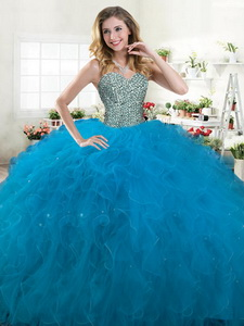 Best Selling Big Puffy Quinceanera Dress with Beading and Ruffles