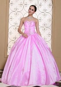 Sweet Quinceanera Dress In California Sweetheart Beaded Decorate Bust