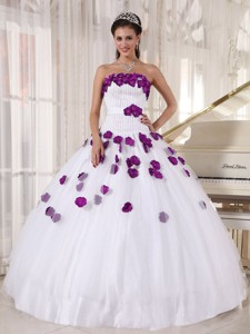 Strapless Floor-length Beading Quinceanera Dress
