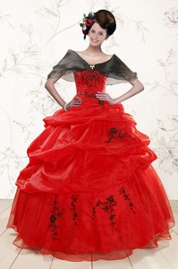 Perfect Sweetheart Red Quinceanera Dress