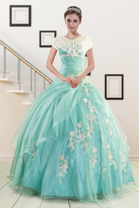 Ball Gown Sweetheart Cheap Quinceanera Dress With Appliques